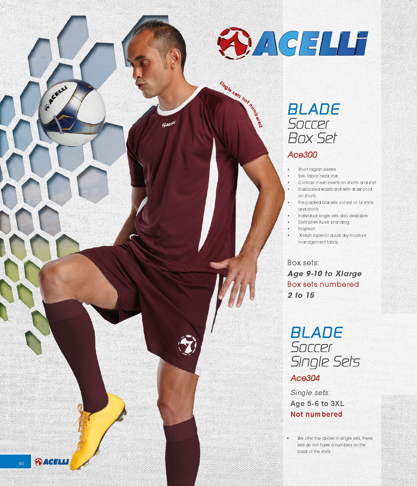 Acelli Blade Soccer Box Set