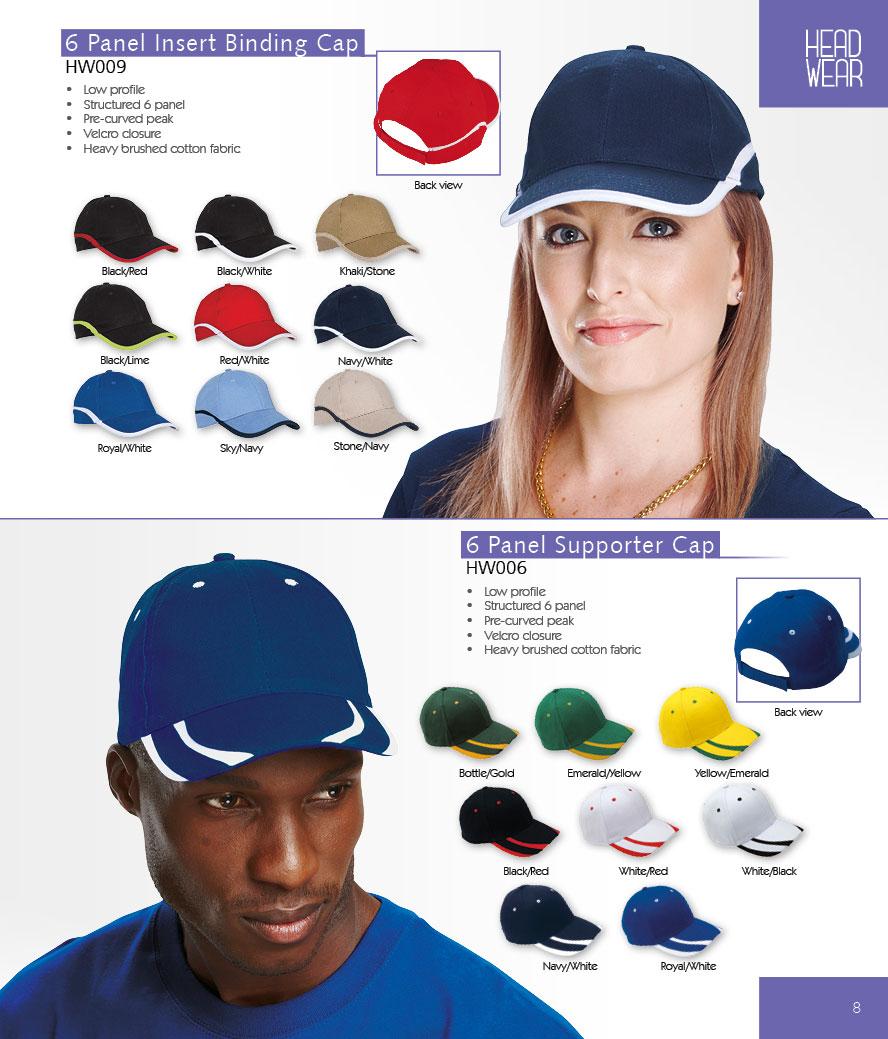 Binding Caps