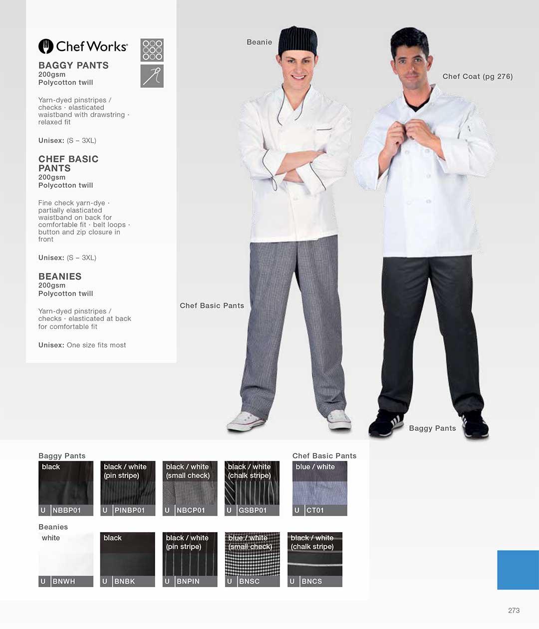 ChefWorks Baggy Pants