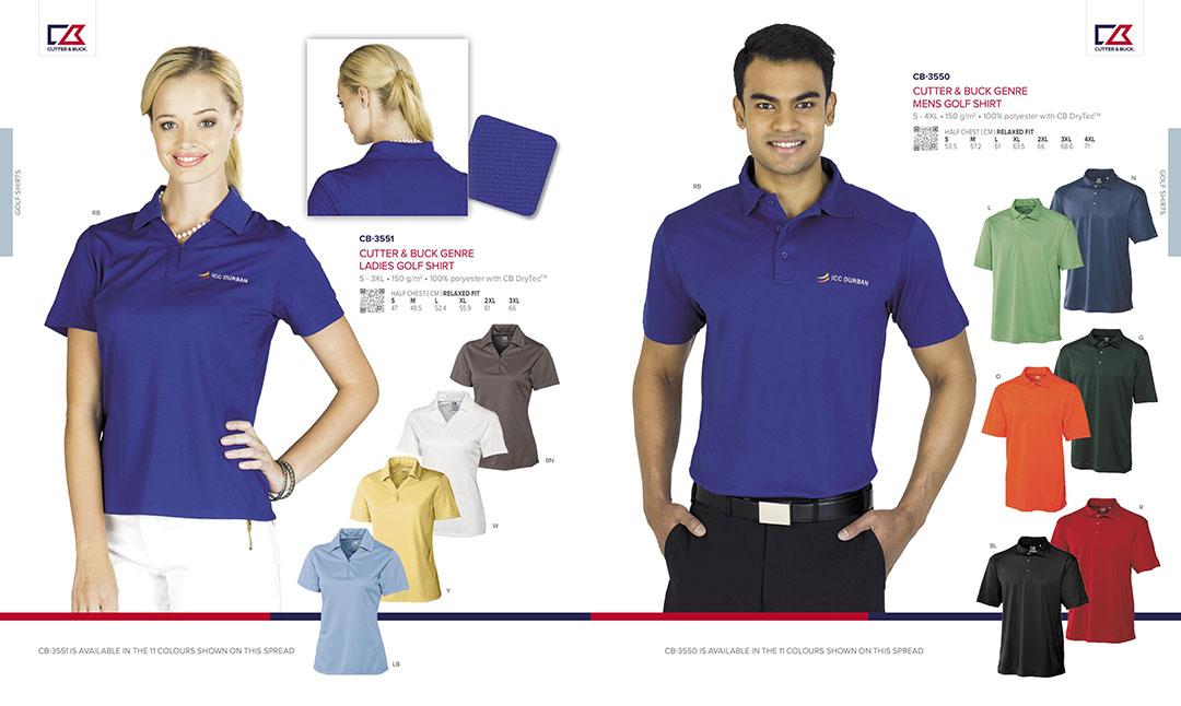 Cutter and Buck Golf Shirts