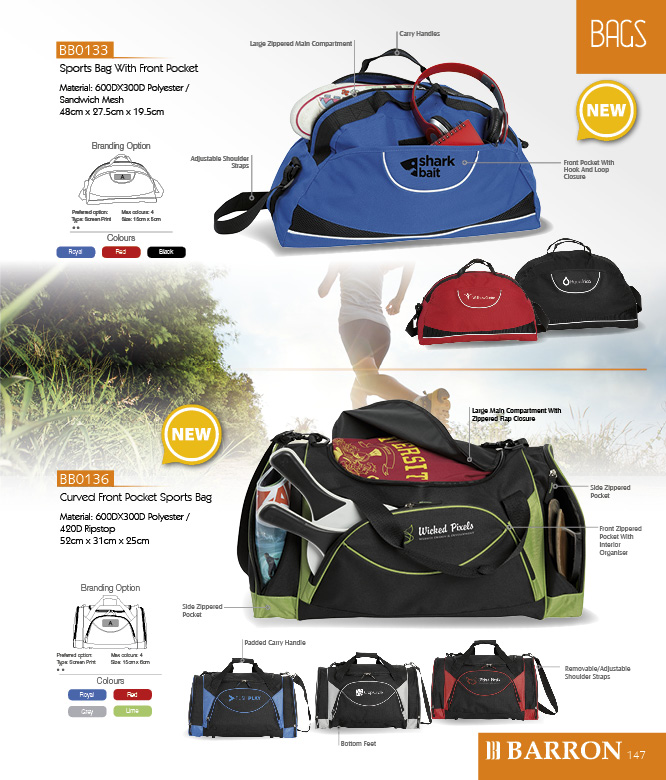 Kevro Sports bag
