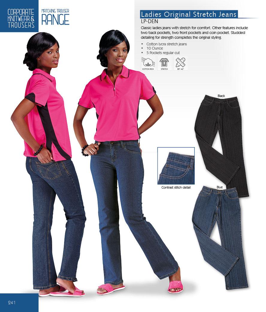 Ladies Jeans Casualwear